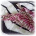 Różowa arafatka 110cm x 110cm