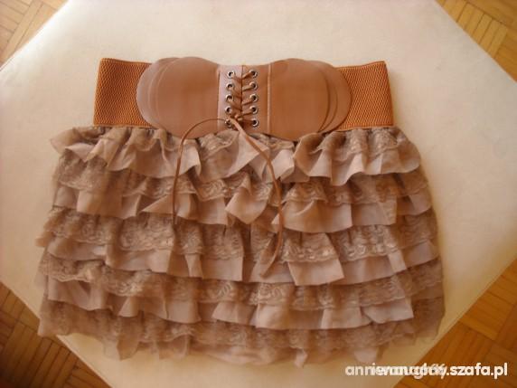 Spódnice falbanki
