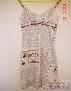 sukienka gazeta