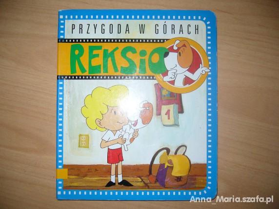 Zabawki Książeczka o Reksio