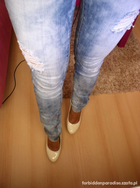 Mój styl jeans and lace