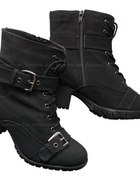 military worker boots z obcasem