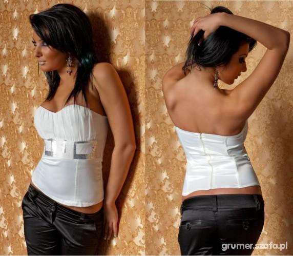 Imprezowe Biało czarna strój