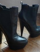 ASOS Alesha Chelsea Platform Leather Boots...
