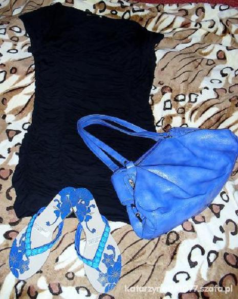 Mój styl kobalt plus czerń