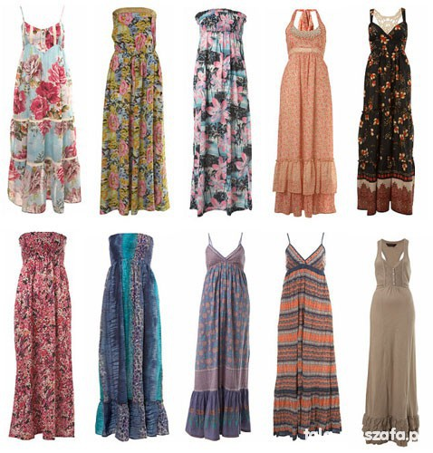 Sukienki maxi r S XL