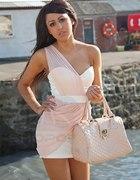 Śliczna różowa sukienka...