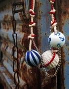 korale handmade kotwice paski marynarski pin up...