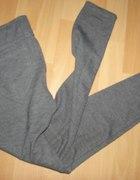 Szare legginsy z kieszeniami rozmiar S