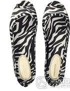 h&m zebra baleriny