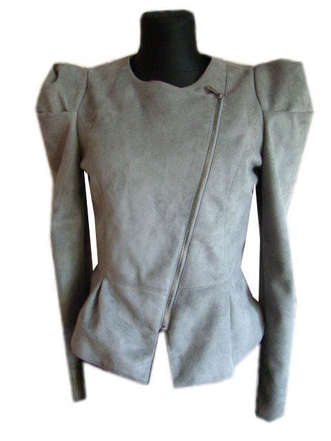 Odzież wierzchnia kurtka szara GAGA L