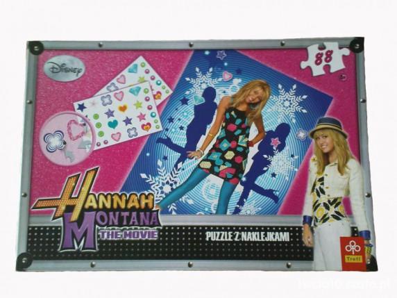 Zabawki Puzzle Trefl HANNAH MONTANA 88 elementów