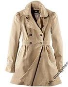 H&M płaszcz trencz