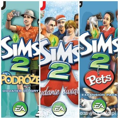 Zabawki the sims 2 i dodatki