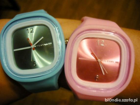 Jelly watch różowy & niebieski