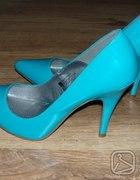 miętowe buty
