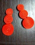 Pomarańczowe spiralki