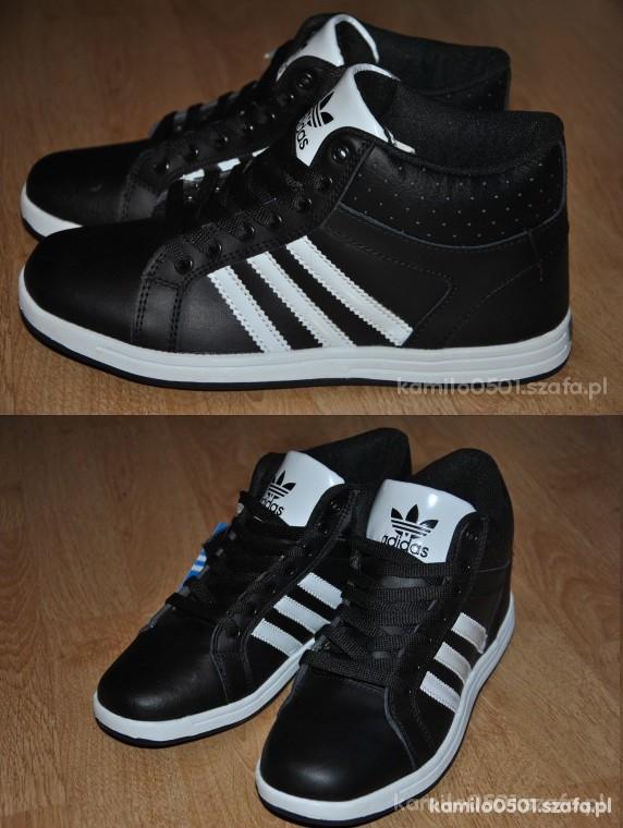 buty adidas czarne wysokie