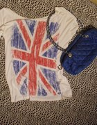 bluzka new yorker z flaga