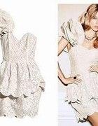 Sukienka koronkowa H&M...