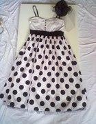 Moja ukochana sukienka w groszki