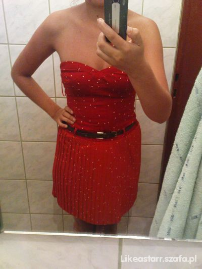 Wieczorowe Sukienka PinUp Bershka
