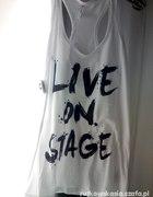 new yorker bokserka napisy live on stage