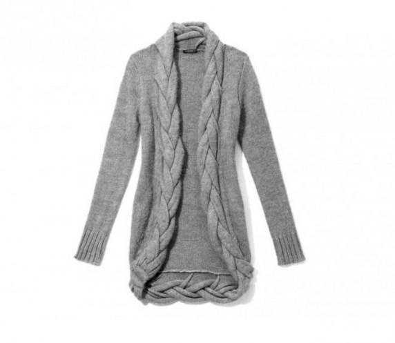 Sweter kardigan Mohito warkocze