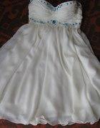 Sukienka Ecri CUDO z kamyczkami HANDE MADE...
