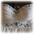 Sukienka Ecri CUDO z kamyczkami HANDE MADE