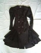 Gotycka sukienka gothic z trenem lolita koronka