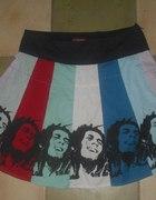 Bob Marley Pop Art L 40 rasta spódnica rastafarai