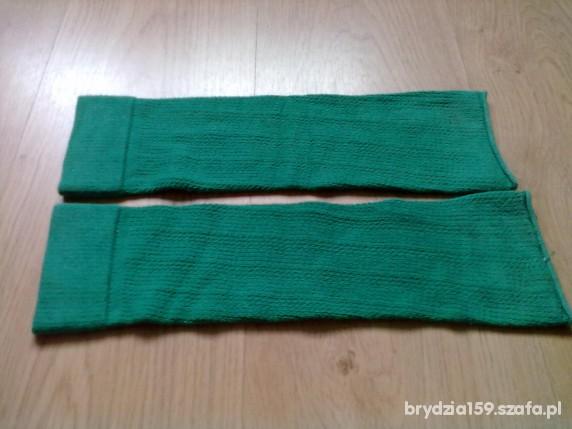 Pozostałe Getry ocieplacze zielone modne używane