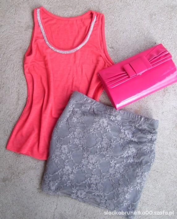 Spódnice bandażowa koronkowa mini