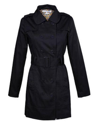 Ubrania Płaszcz czarny Troll