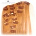 40zł włosy clip in blond jasny nowe 2 komplety