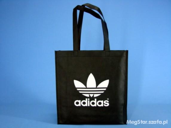 63a7f71e2a139 Czarna eko torba Adidas w Dodatki - Szafa.pl