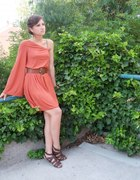 marchewkowa sukienka