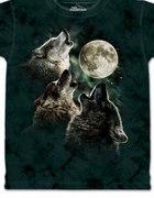 Przepiękna koszulka wilki i księżyc