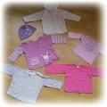 kaplet bluzeczek dla dziewczynki
