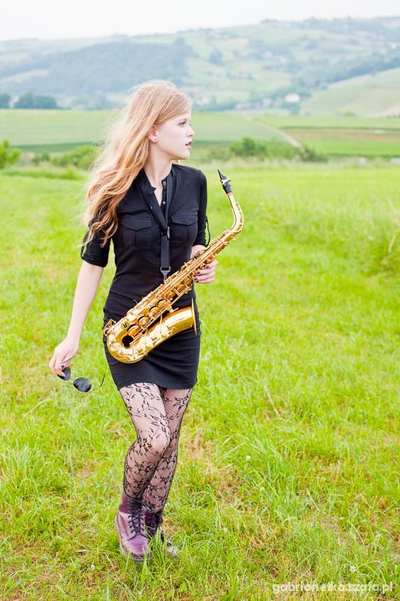 Mój styl Saksofonowo
