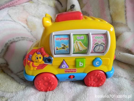 Zabawki FISHER PRICE super autko dla maluszka