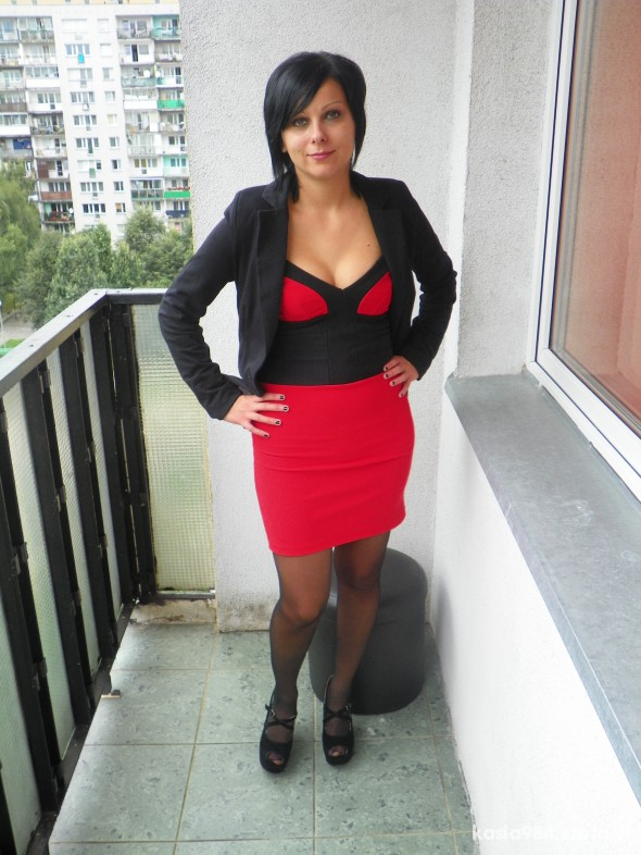 Eleganckie Imprezowo RED