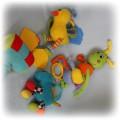miękkie materiałowe zabawki edukacyjne