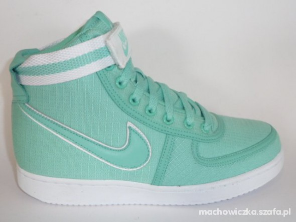 new concept 57a04 068b5 Buty Nike Vandal High Miętowe