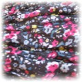 Chustka szlalik czarna floral Butik