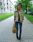 Kurteczka H&M rurki piękne buciki