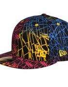 Kolorowa czapka bejsbolówka