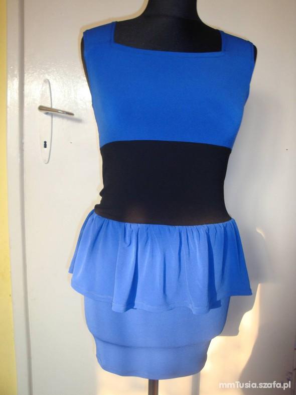 Suknie i sukienki kobaltowa