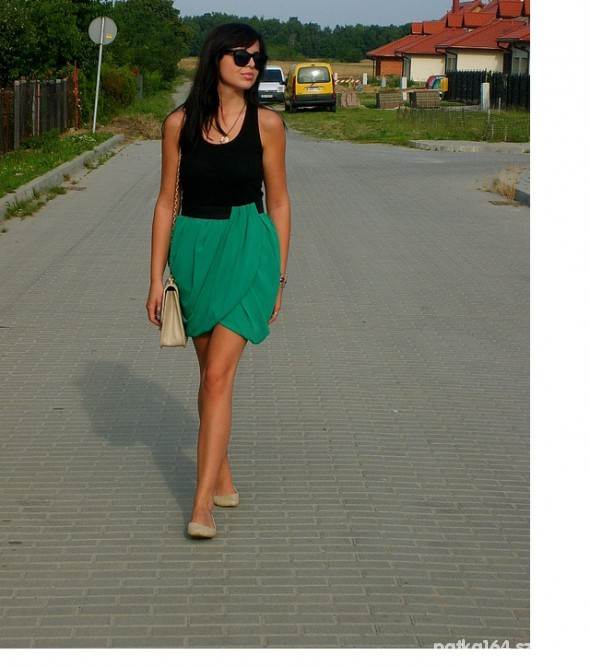 Mój styl spodniczka HM
